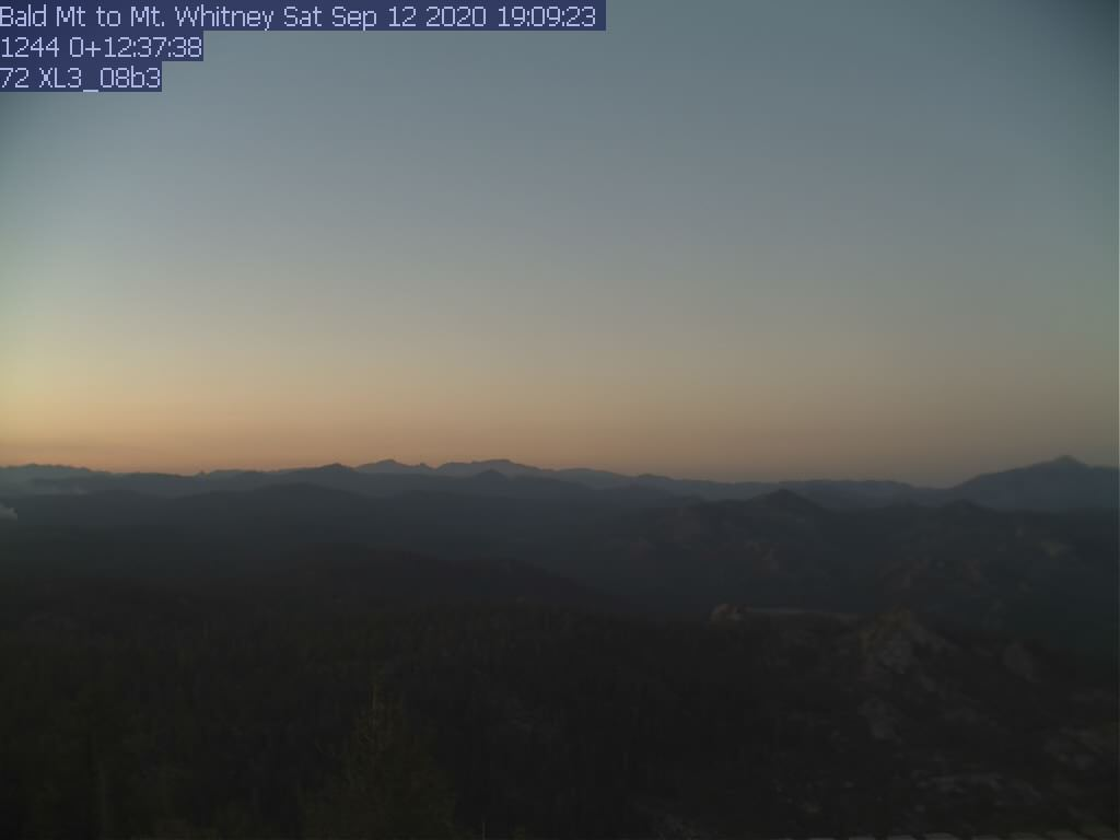 Bald Mtn. WebCam #2 - Northeast to Olancha & Mt. Whitney