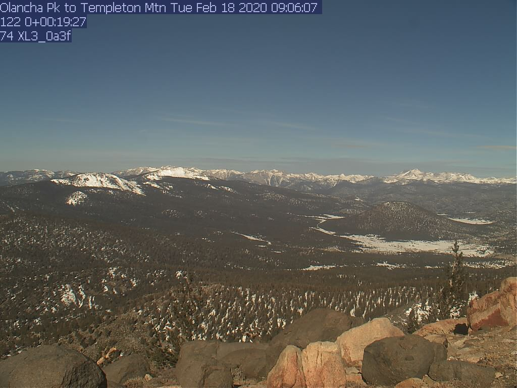 Bald Mtn. WebCam #5 - West toward Sherman Peak/Sherman Pass