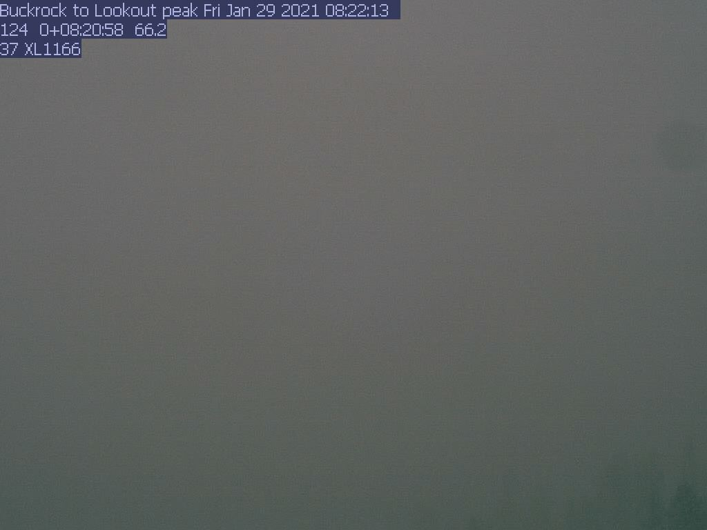 Buck Rock WebCam #1 - Northeast to Lookout Peak
