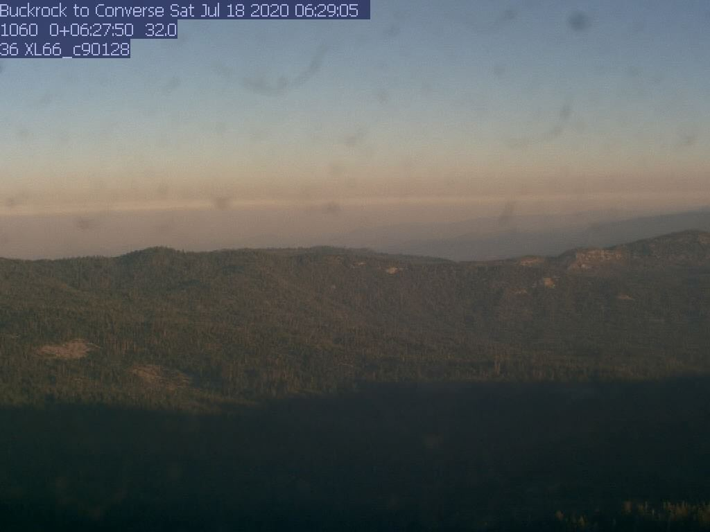 Buck Rock WebCam #2 - Northwest to Converse Mtn.