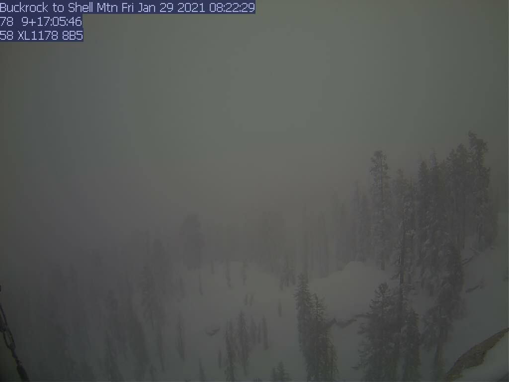 Buck Rock WebCam #5 - Southeast toward Shell Mtn.