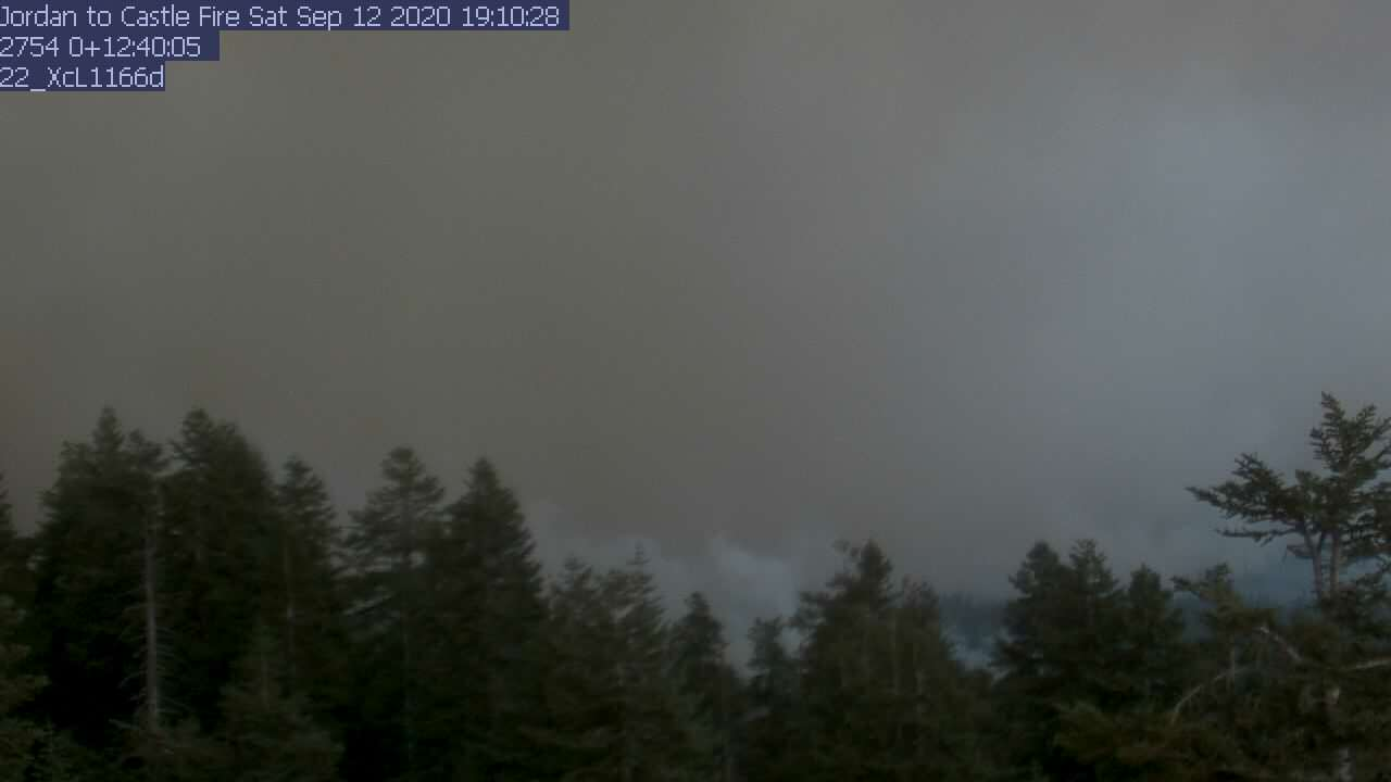 Jordan Peak WebCam #2 - East toward Hockett Peak