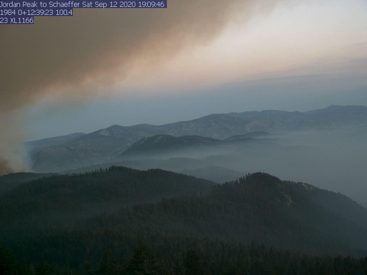 Jordan Peak WebCam #3 - Southeast to Needles Lookout
