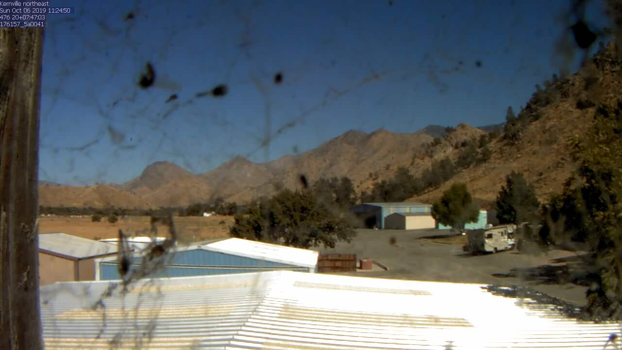 Kernville WebCam #2 - Towards NE