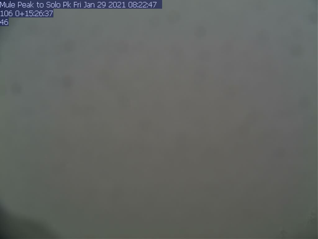 Mule Peak WebCam #3 - Southeast to Baker Point