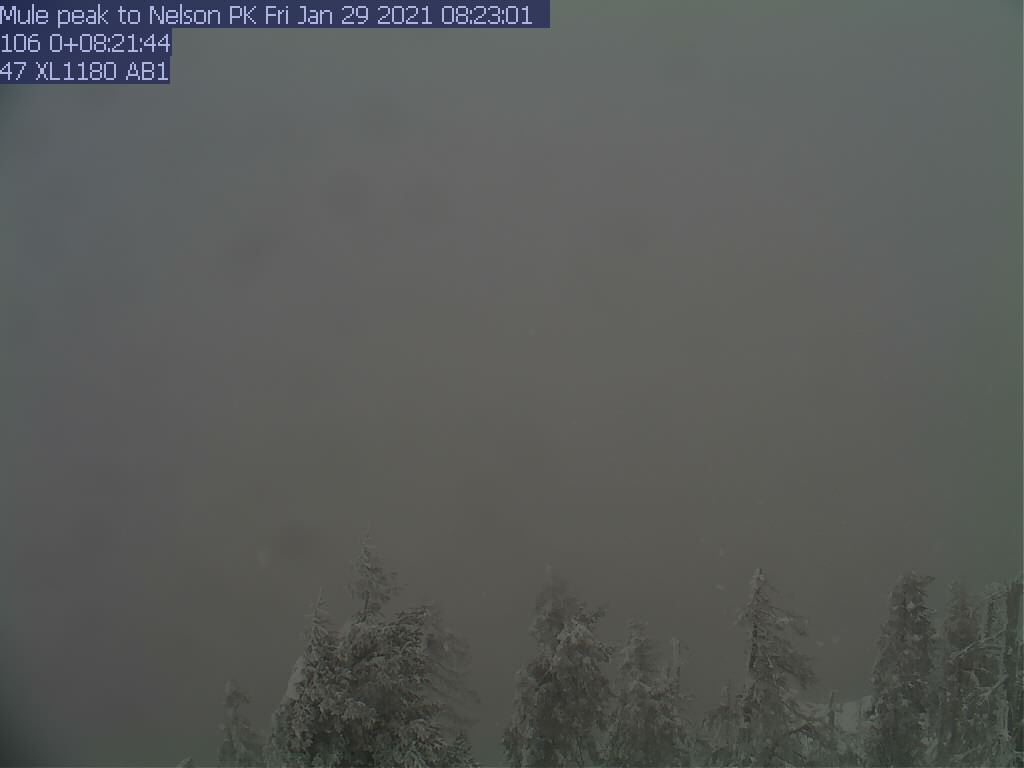 Mule Peak WebCam #4 - Southwest to Cold Spring