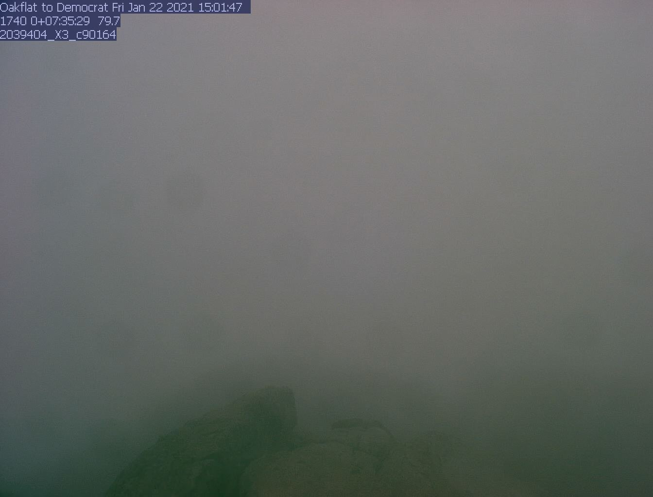 Oakflat - E just N of Democrat