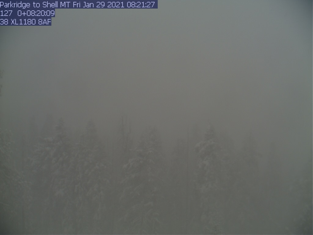 Park Ridge WebCam #1 - East toward Shell Mtn.