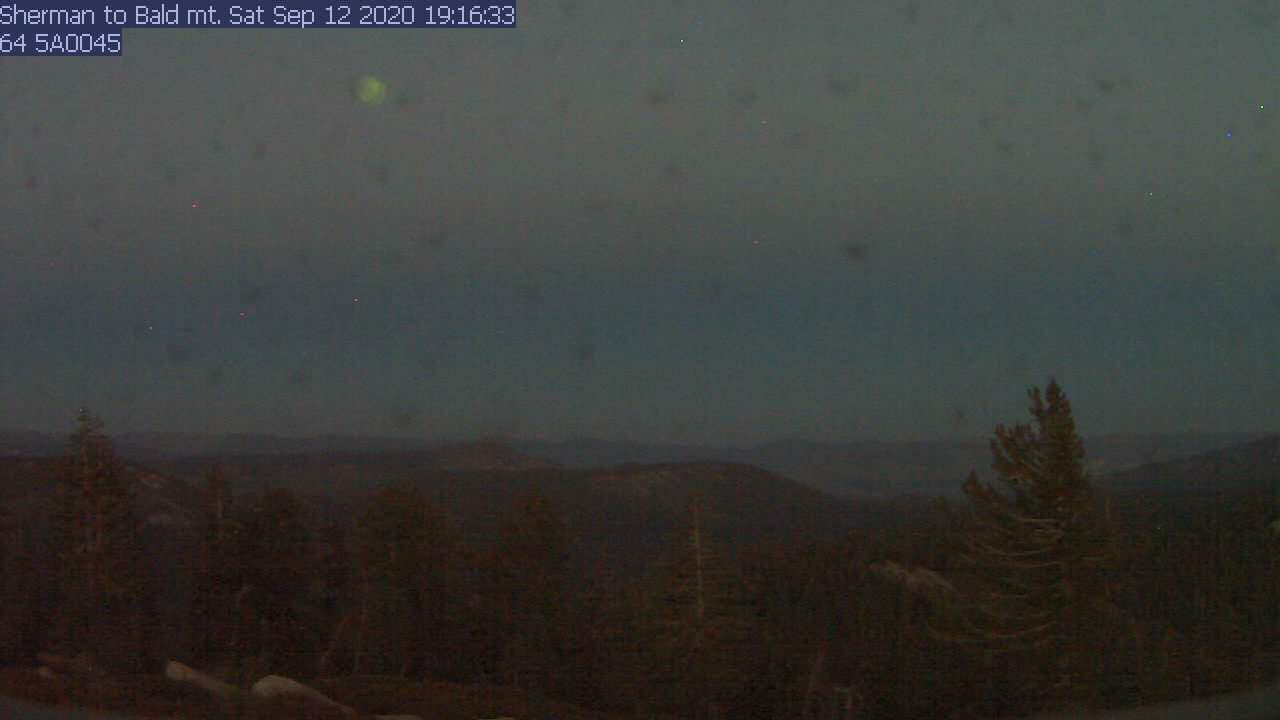 Sherman Peak WebCam #4 - East to Kennedy Peak