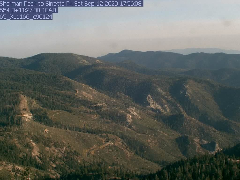 Sherman Peak WebCam #5 - Sirretta Peak