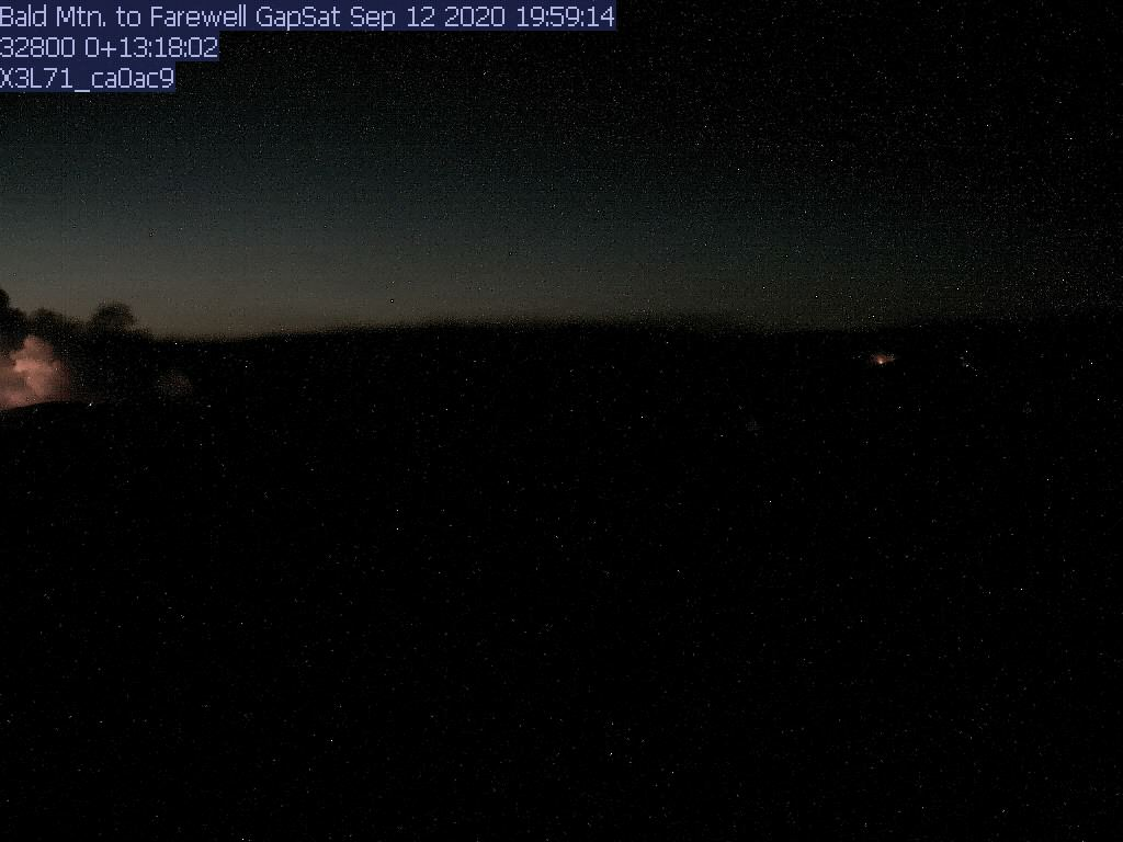 Bald Mtn. WebCam #1 - North to Farewell Gap to Kern River