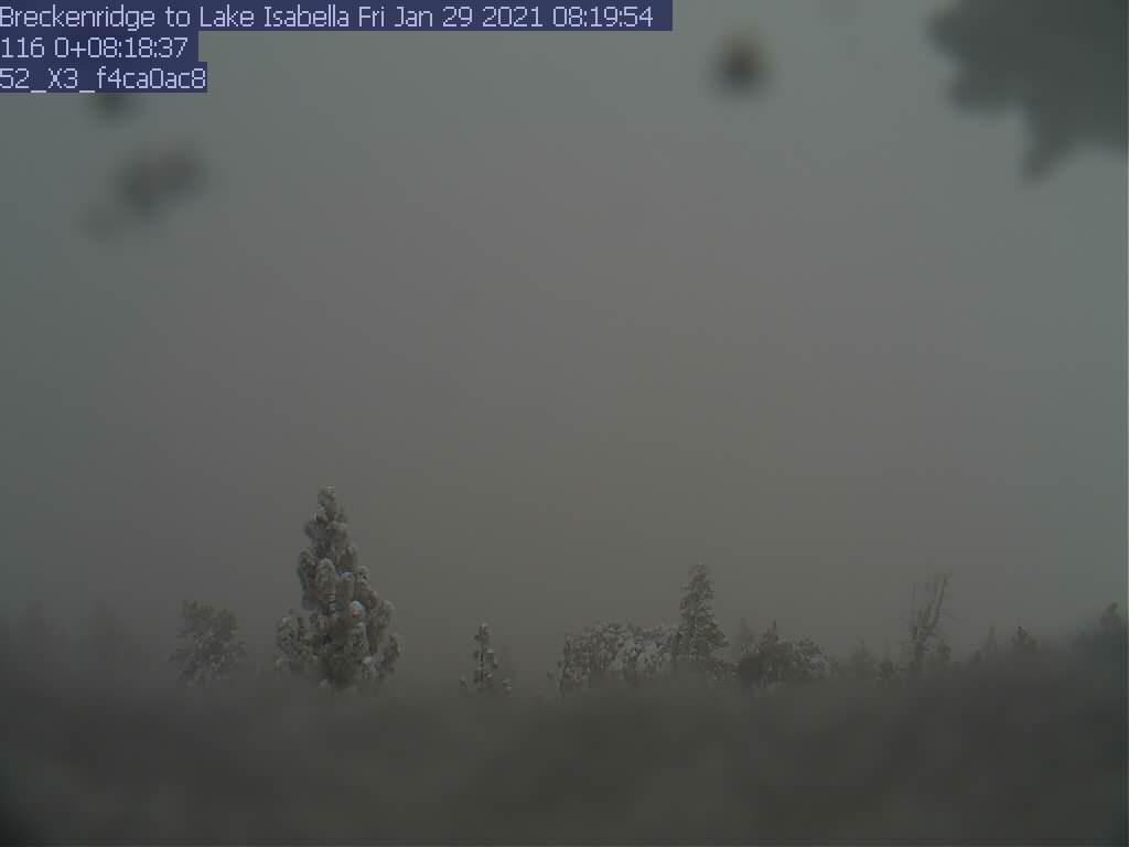 Breckenridge WebCam #2 - Northeast toward Lake Isabella
