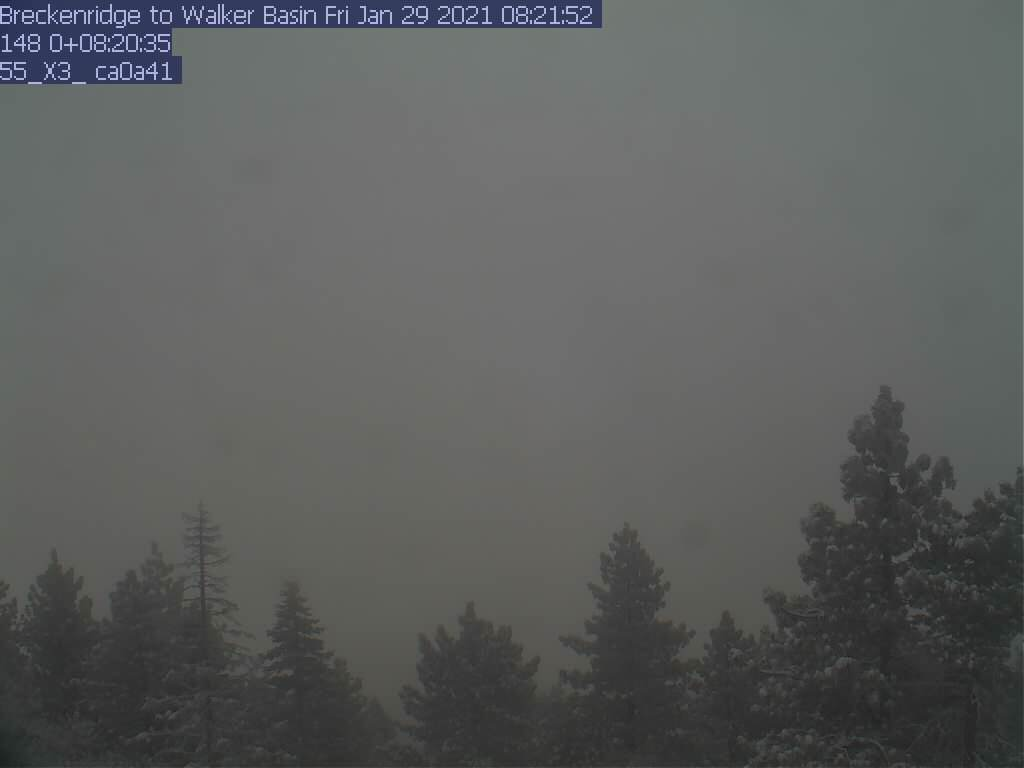 Breckenridge WebCam #5 - South towards the Tehachapis