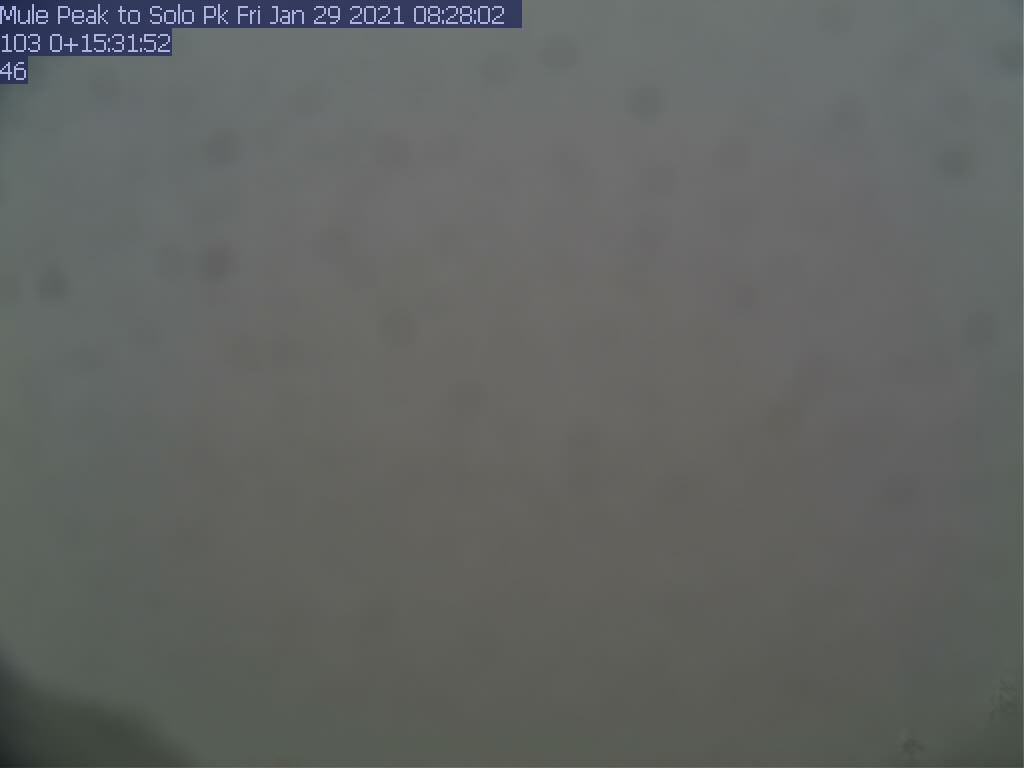Mule Peak WebCam #3 - Southwest to Cold Spring