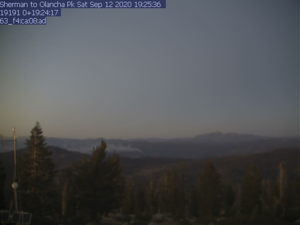Sherman Peak WebCam #3 - Northeast toward Olancha Peak