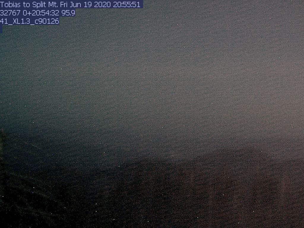 Tobias Peak WebCam #1 - Southeast towards Split Mtn.